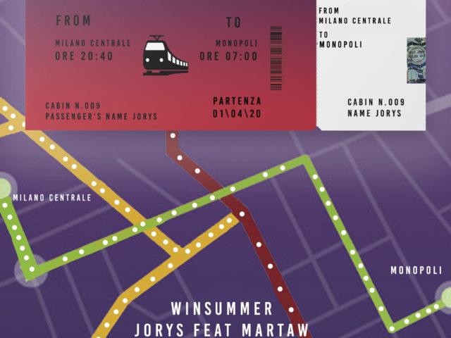 Oltre sei mila visualizzazioni sul tratto Milano/Monopoli per Winsummer di Jorys feat. Martaw
