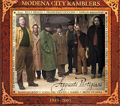 Modena City Ramblers, torna in vinile Appunti partigiani