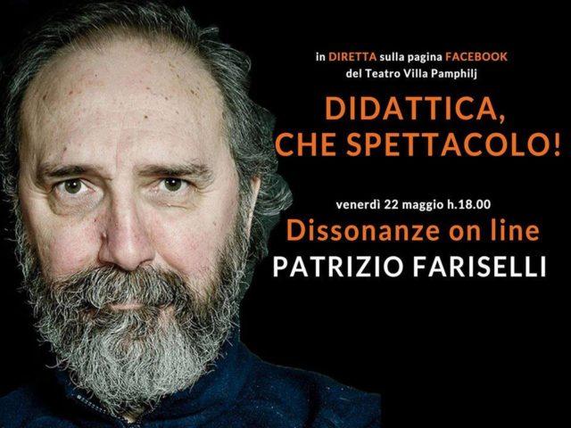 Didattica, che spettacolo! al via con Patrizio Fariselli dal 22 maggio il primo di quattro incontri online