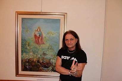 """Mario """"The Black"""" Di Donato: Arte e Rock Metal"""