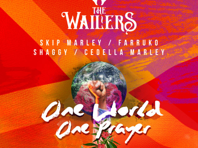 The Wailers feat. Skip Marley, Farruko, Shaggy e Cedella Marley: tutti assieme nel brano One World, One Prayer…