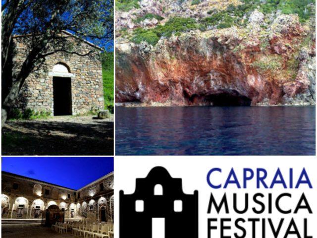 Il Chiostro di Sant'Antonio, la Chiesa di Santo Stefano ed il concerto sul mare presso la Grotta al Cavallo: ecco le location del Capraia Musica Festival 2020