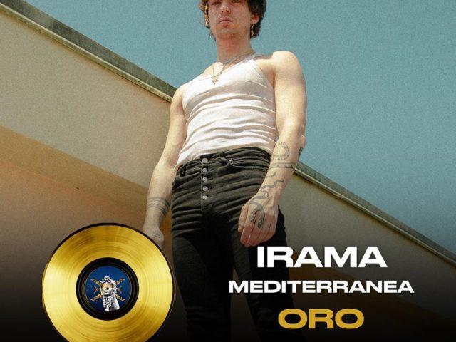 Momento magico per Irama: il brano Mediterranea conquista il Disco d'Oro…