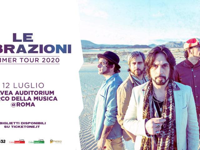 """Le Vibrazioni tornano live questa estate con il """"Summer Tour"""". Prima data 12 Luglio Parco della Musica"""