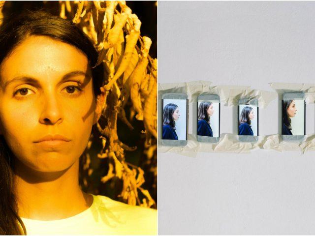 Fra un mese sarà abbronzata, ma per ora Giulia Di Gregorio mostra i pugni del suo disco uscito come Logo ..