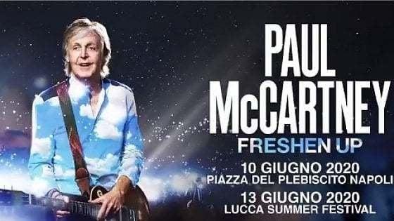 Oltraggioso che chi ha pagato un biglietto per un concerto (poi annullato), non possa riavere indietro i suoi soldi: l'ha detto Paul McCartney …