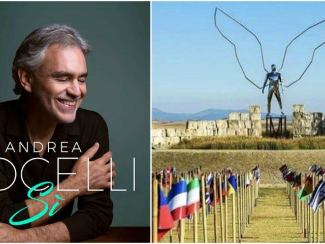 Andrea Bocelli live at Teatro del Silenzio, waiting for Il Mistero della Bellezza 2021