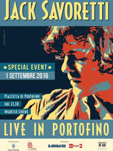 One Night in Portofino il 4 Settembre per Jack Savoretti