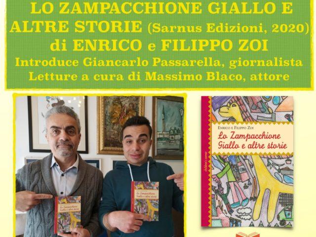 Giovedì 30 Luglio a Firenze il nuovo libro di favole di Enrico e Filippo Zoi