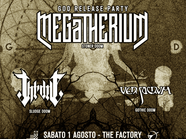 Lo stoner doom dei Megatherium per il release party del nuovo disco God