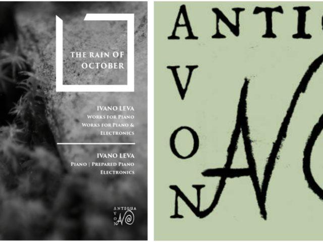 The Rain of October, il nuovo album di Ivano Leva pubblicato da NovAntiqua