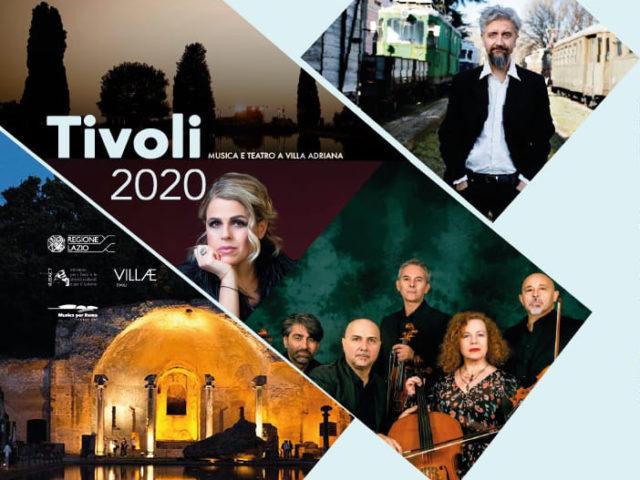 Tivoli 2020 a Villa Adriana con Tosca, Ascanio Celestini, Sarah Jane Morris & Solis String Quartet