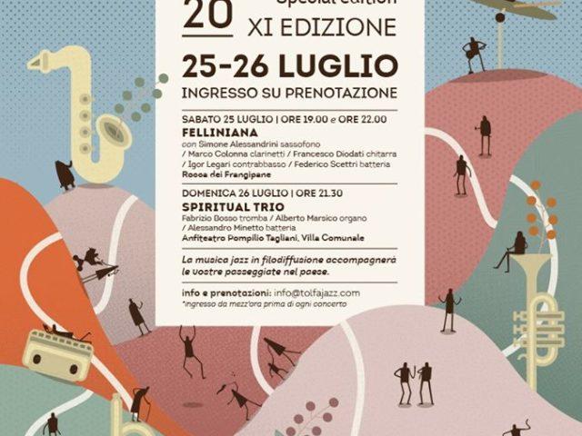 Tolfa Jazz Festival special edition il 25 e 26 luglio con Felliniana e Spiritual Trio