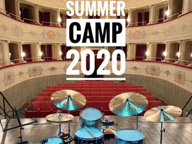 Drum Summer Camp 2020 con Dario Esposito dal 23 al 26 luglio e dal 3 al 6 agosto ad Arcevia (AN)