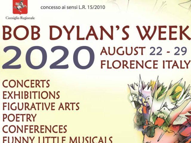 Bob Dylan's Week: la nona edizione tra il 22 ed il 29 Agosto a Firenze e dintorni