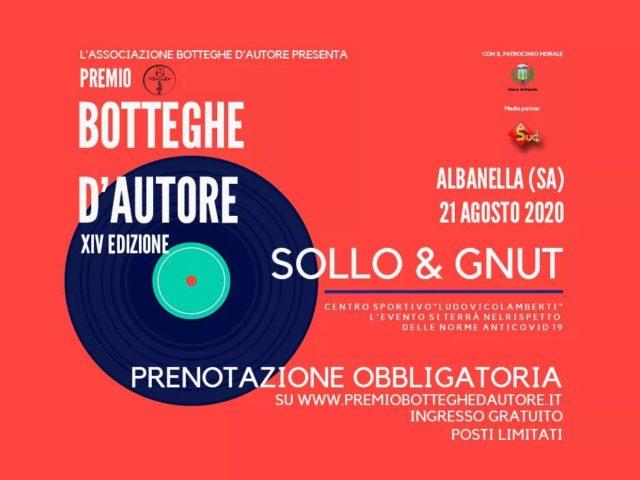 Botteghe d'Autore con la direzione artistica di Ivan Rufo: appuntamento il 21 Agosto nella salernitana Albanella
