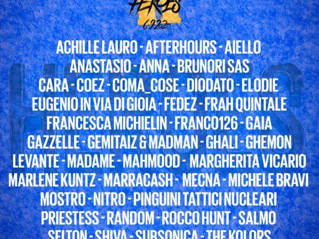 30 artisti il 6 Settembre dall'Arena di Verona a sostegno dei lavoratori della musica