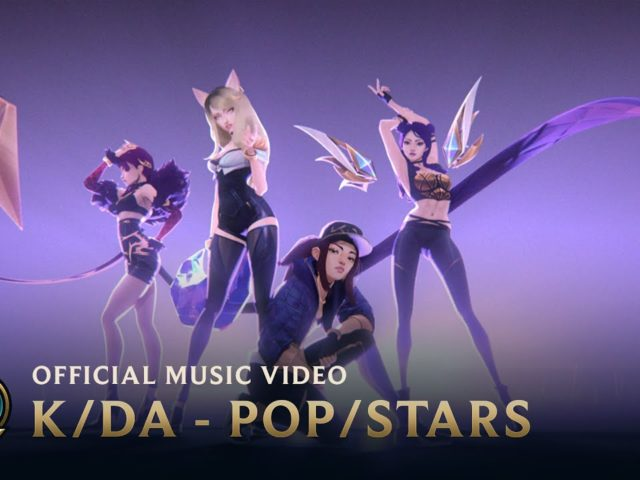 Le K/DA (gruppo pop virtuale) sono ufficialmente tornate sulla scena