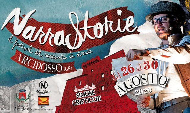 Dal 26 al 30 Agosto la quinta edizione di Narrastorie, festival del racconto di strada