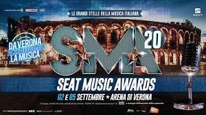 Seat Music Awards il 2 e 5 settembre su Rai 1