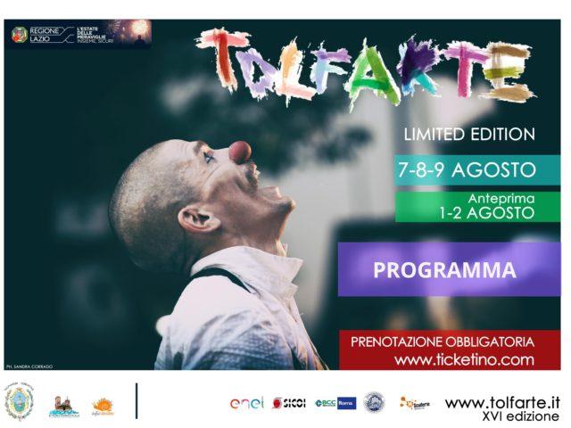 TolfArte: 16a edizione con 50 spettacoli tra alta ricerca artistica ed attenzione alla prevenzione