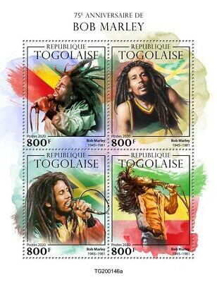 Il Togo stampa francobolli su Bob Marley e la Svizzera sull'emergenza Covid-19