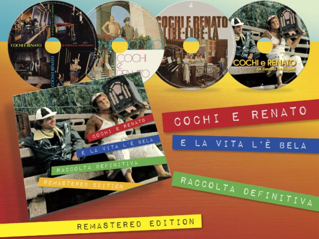 Cochi e Renato, in arrivo box di 4 CD