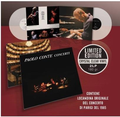Paolo Conte, nuova edizione in vinile per Concerti