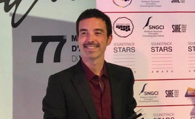 A Diodato il Soundtrack Stars Awards Musica&Cinema