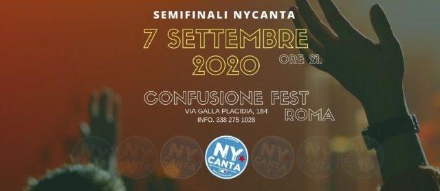 Clementino e Alessio Bernabei alla semifinale del NYCanta
