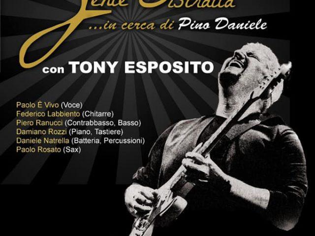 Omaggio a Pino Daniele con Gente Distratta e Tony Esposito l'11 settembre a Ostia Antica