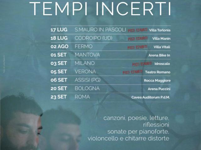 Vasco Brondi presenta Talismani per tempi incerti il 23 settembre al Romaeuropa Festival