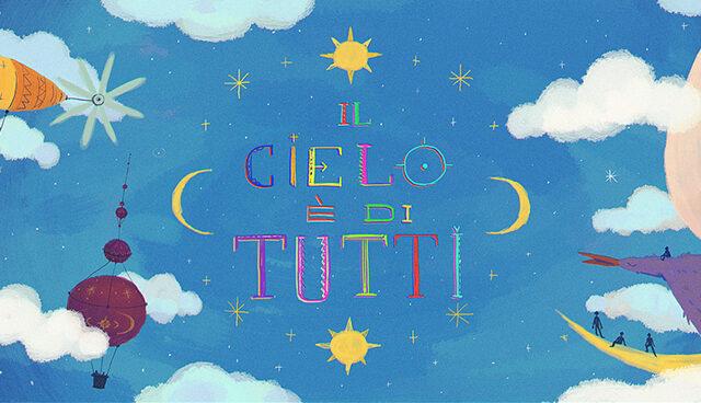 Il Cielo è di tutti, omaggio a Gianni Rodari di Bungaro e Fiorella Mannoia su Rai Yoyo, Rai Gulp, RaiPlay