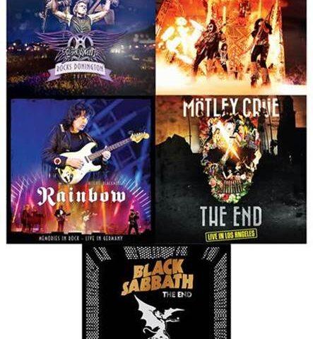 Eagle Rock riporta in vinile capolavori di Aerosmith, Mötley Crue e Kiss