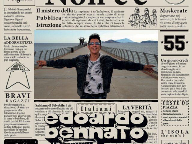 Edoardo Bennato: esce Non c'è  e il 14 dicembre al via il virtual instore experience