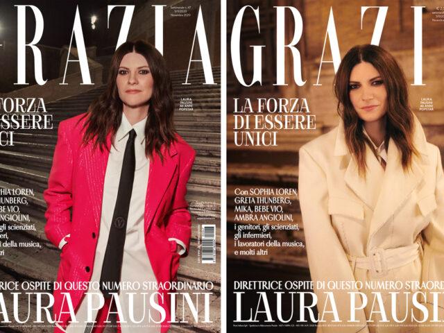 Laura Pausini direttrice speciale del magazine Grazia