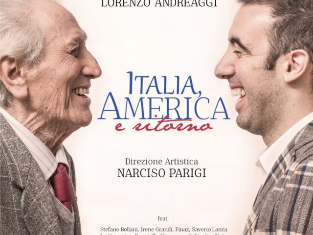 Finalmente viene pubblicato Italia, America e Ritorno, disco di Lorenzo Andreaggi con la direzione di Narciso Parigi