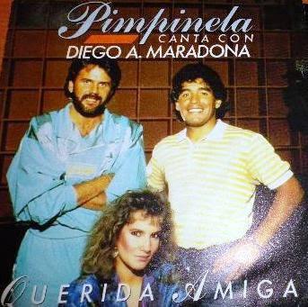 Querida amiga / Mia dolce amica, il singolo di Maradona