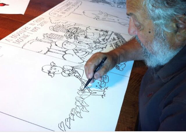 Addio a Ro Marcenaro, illustratore autore delle animazioni per Gino Paoli