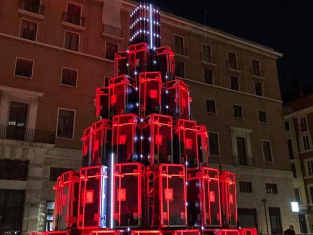 L'Albero dei Bauli inaugurato anche a Roma