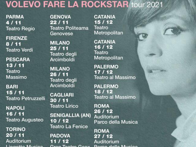 Carmen Consoli annuncia l'album Volevo Fare la Rockstar