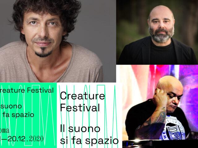 Festival Creature dall'11 al 20 dicembre a Roma con Riccardo Sinigallia, Teho Teardo e Ice One