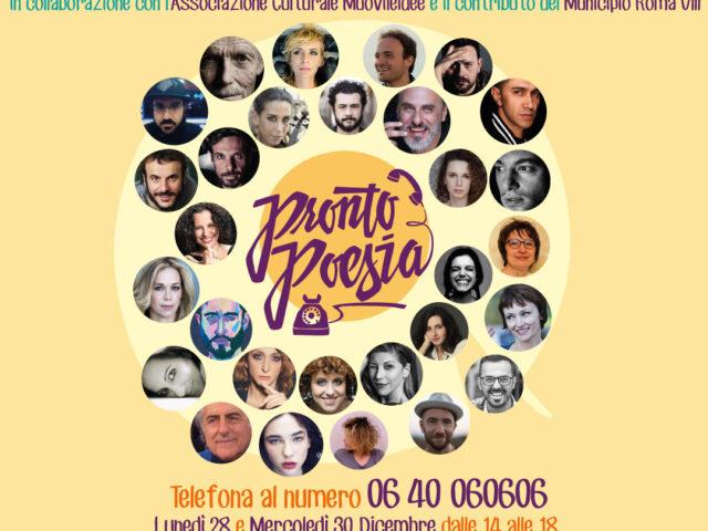La cantautrice Giulia Ananìa lancia ProntoPoesia: il primo call center poetico