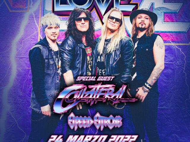 Per i rocker finlandesi Reckless Love il loro Merry Metal Madness Tour slitta a Marzo… ma del 2022
