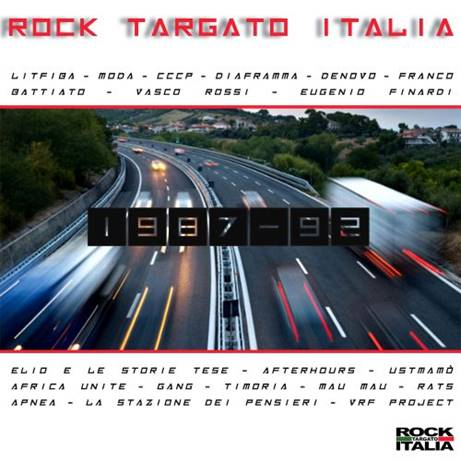 Rock Targato Italia 1987 – 1992, il volume 1 di una compilation per conoscere il rock di casa nostra
