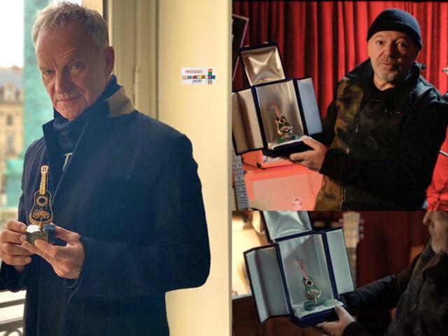 Premio Tenco 2020 a Sting, Vasco Rossi e Vincenzo Mollica, il 28 dicembre speciale su Rai3
