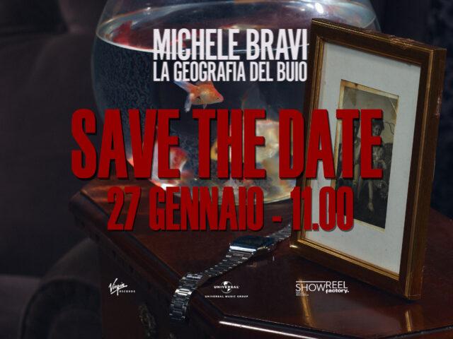 Venerdì 22 Gennaio il nuovo singolo di Michele Bravi, anteprima dell'album La Geografia del Buio