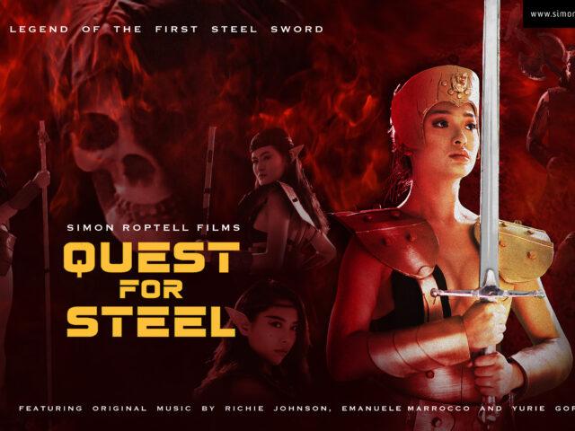 Quest for Steel, film di Simon Roptell con il giovane musicista Emanuele Marrocco nella colonna sonora