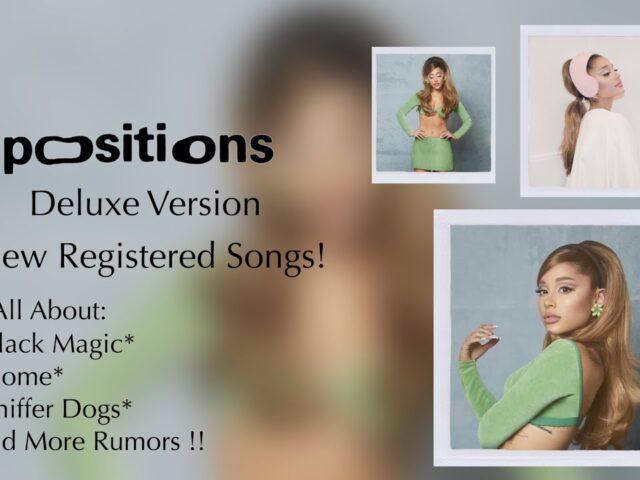 Ariana Grande pubblica la versione deluxe dell'album Positions