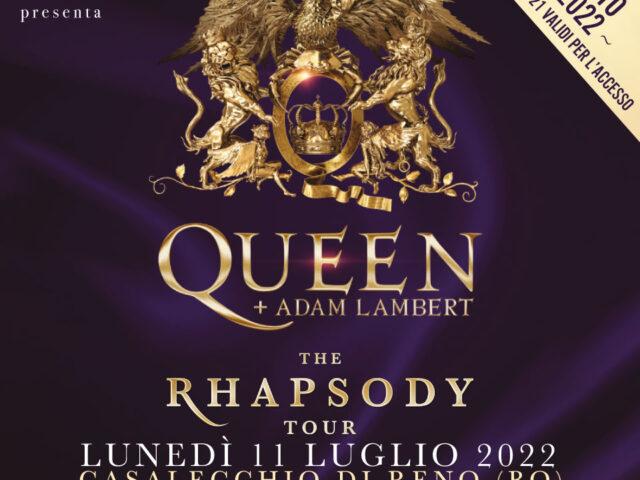 Queen + Adam Lambert: concerto italiano rimandato al 2022